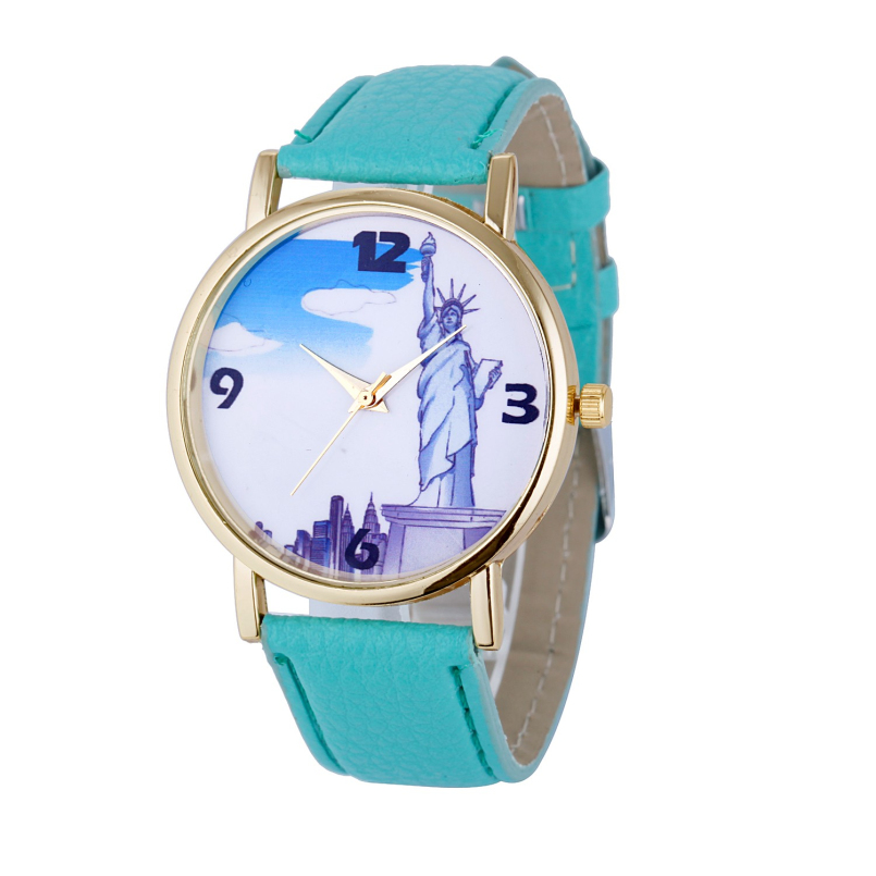 Excellent Quality Fashion Quartz Vintage Leather Watch Women Ladies Students Retro Wrist Watches Casual Wristwatches Gift