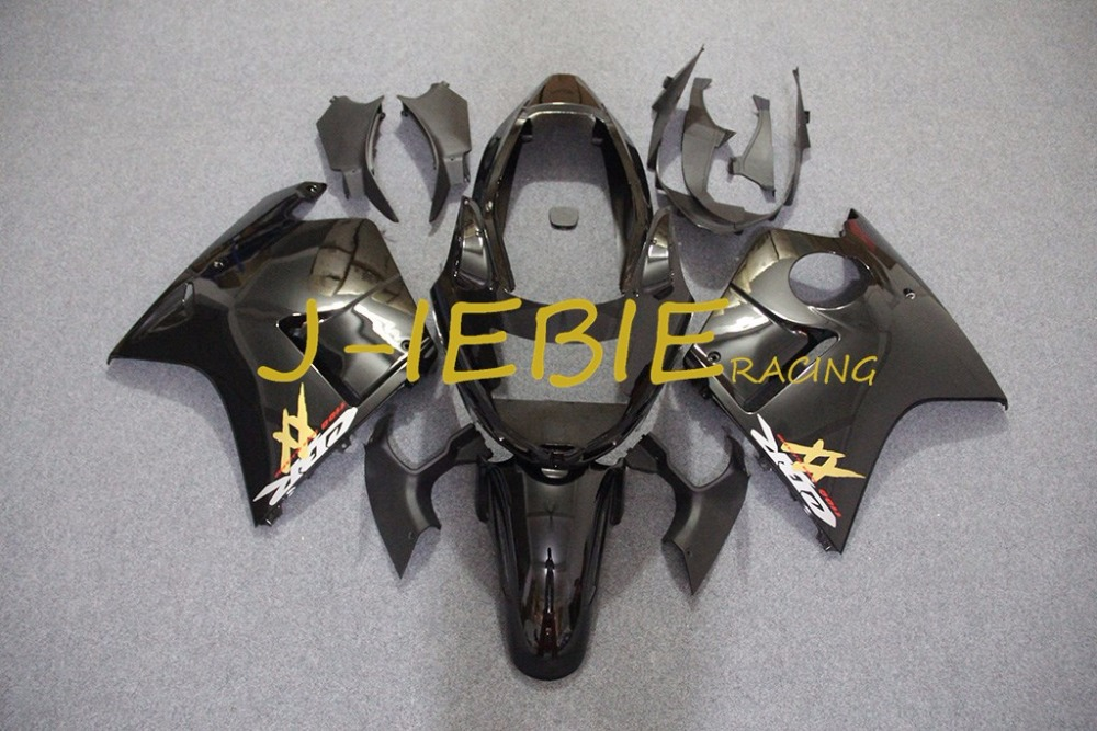 Black Injection Fairing Body Work Frame Kit for HONDA CBR1100XX CBR 1100 CBR1100 XX 1996-2007 1997 2000
