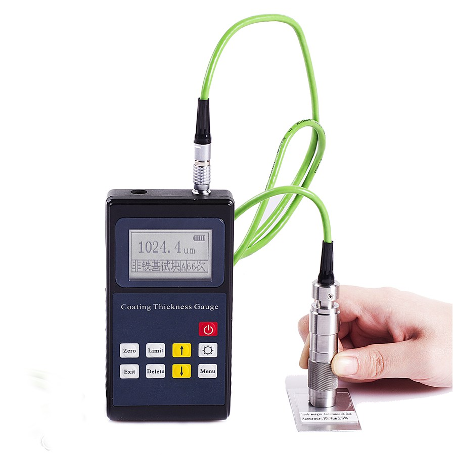 Leeb222 Thickness meter Paint thickness gauge paint coating thickness meter automotive paint thickness gauge digital automotive coating ultrasonic paint iron thickness gauge meter tool