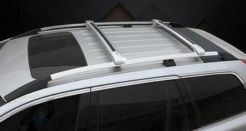 Aluminium alloy Palang Bar Cargo Bagasi Atap Rak Untuk Lexus RX270 2011-2014 Apair