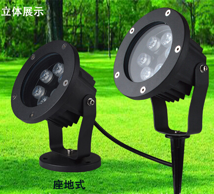 Us 246 4 12 Off 6w In Ground Light Led Outdoor Garden Path Floor Plug With Stick Yard Lamp Spot Landscape Waterproof Ip67