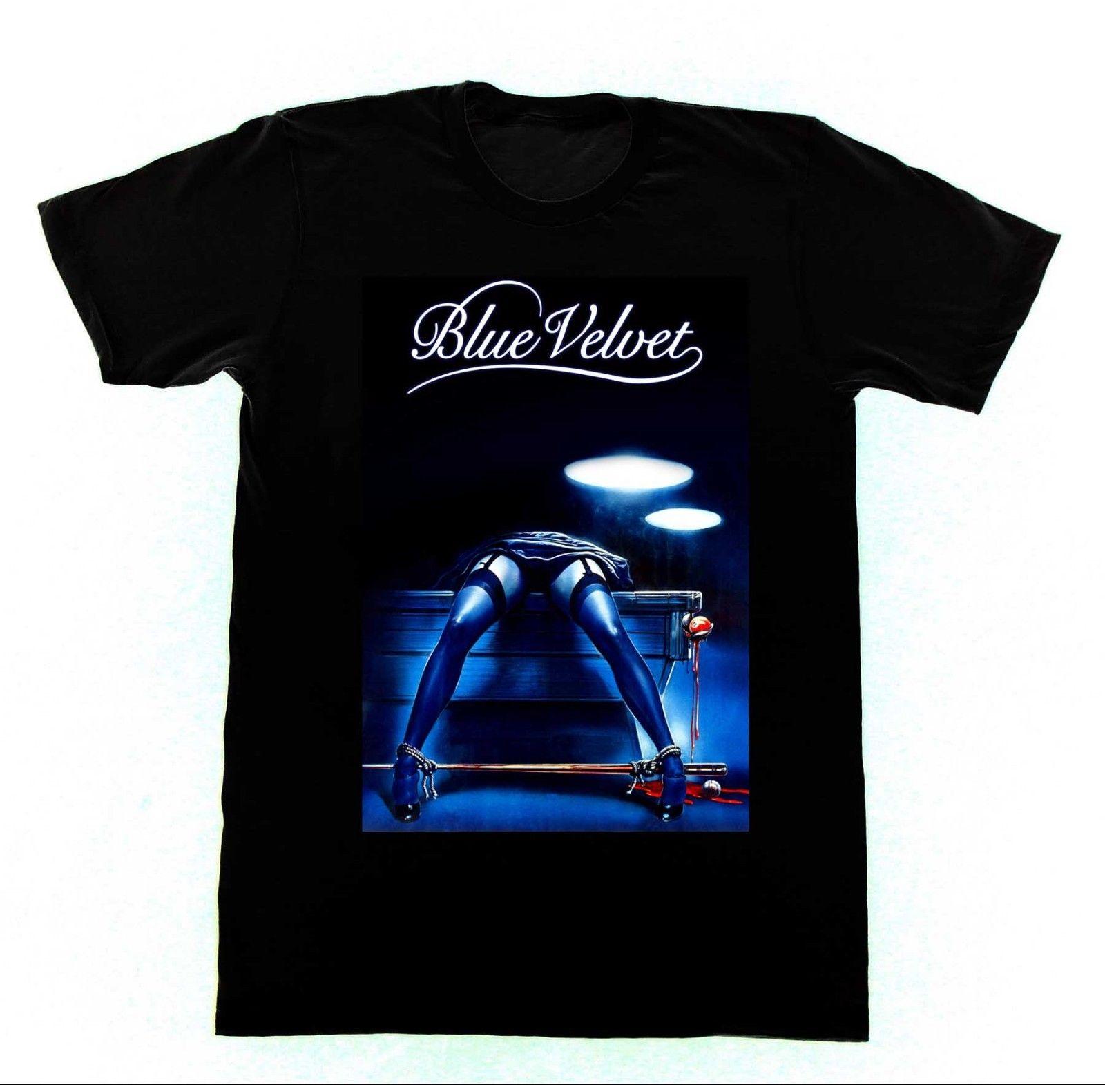 Blue Velvet David Lynch Tshirt 41 T-Shirt Cult Film BDSM Bondage Erotica Pre-Cotton Tee Shirt For Men