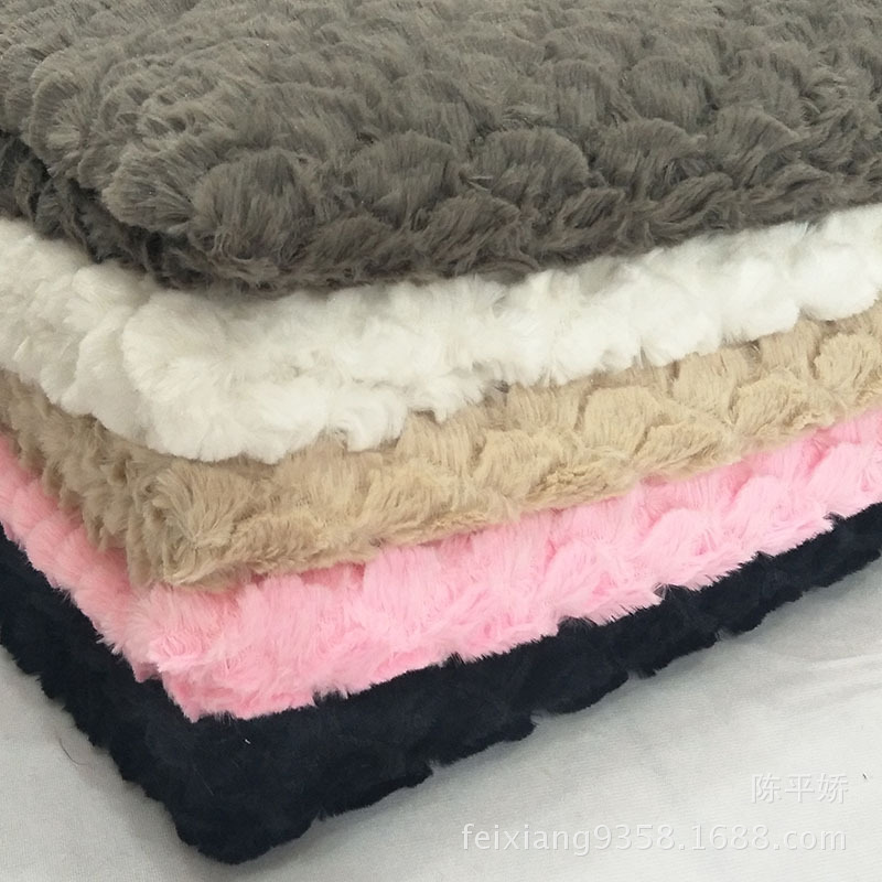 Flannelette FabricPv Plush,3D Stereoscopic Fish Scales Sector Softnap,sector Fabric Flannelette Blanket(160*100 Wholesale Price)