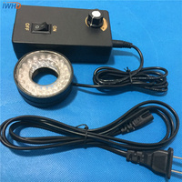For the microscope illumination aperture 27.5mm blue yellow machine vision detection industrial LED lights C Mount lens