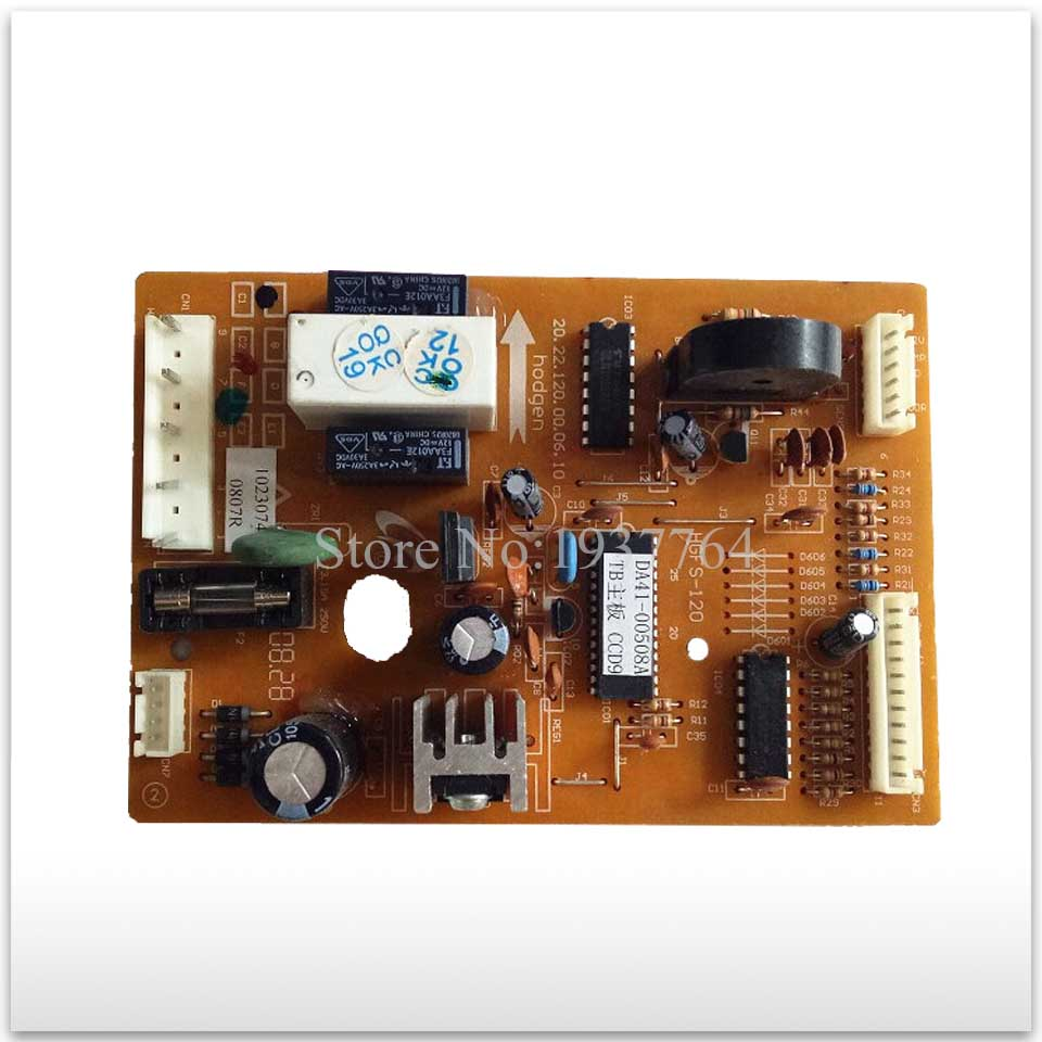 90% new used for Samsung refrigerator board BCD-212NKSS DA41-00508A HGFS-120 board good working good working for embraco refrigerator pc board computer board used bcd 558wa bcd 558wyjz 0064001350 frequency conversion board
