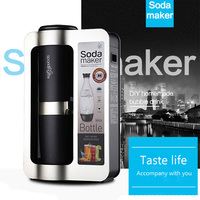 수제 소다 물 기계 소다 메이커 전문가 거품 발생기 기계 diy 거품 음료 1 pc
