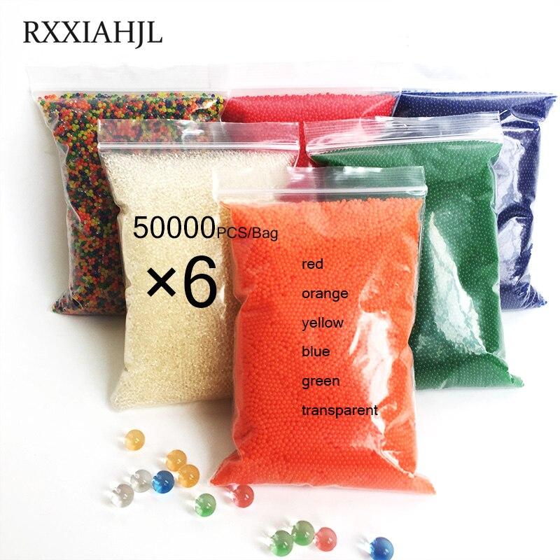 300000 PCS Bag Hydrogel Pearl Shaped Crystal Soil Water Beads Bio Gel Ball For Flower Weeding