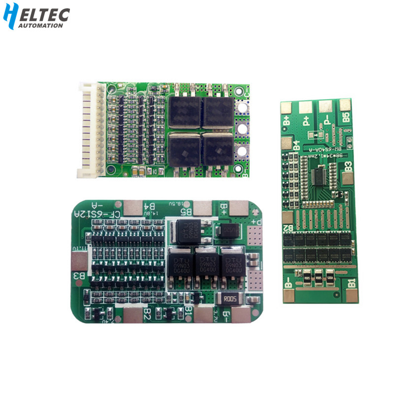 BMS 6S 15A 20A 25A 40A 24V Lithium Protection Board For 6 Pack 18650 PCB BMS Li-ion Battery Cell Module