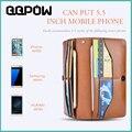 Мобильный Телефон Сумка Универсальный Флип Кожаный Бумажник Чехол Для iPhone 6 6 s Plus Samsung Huawei С Карт памяти Полный Защитный крышка