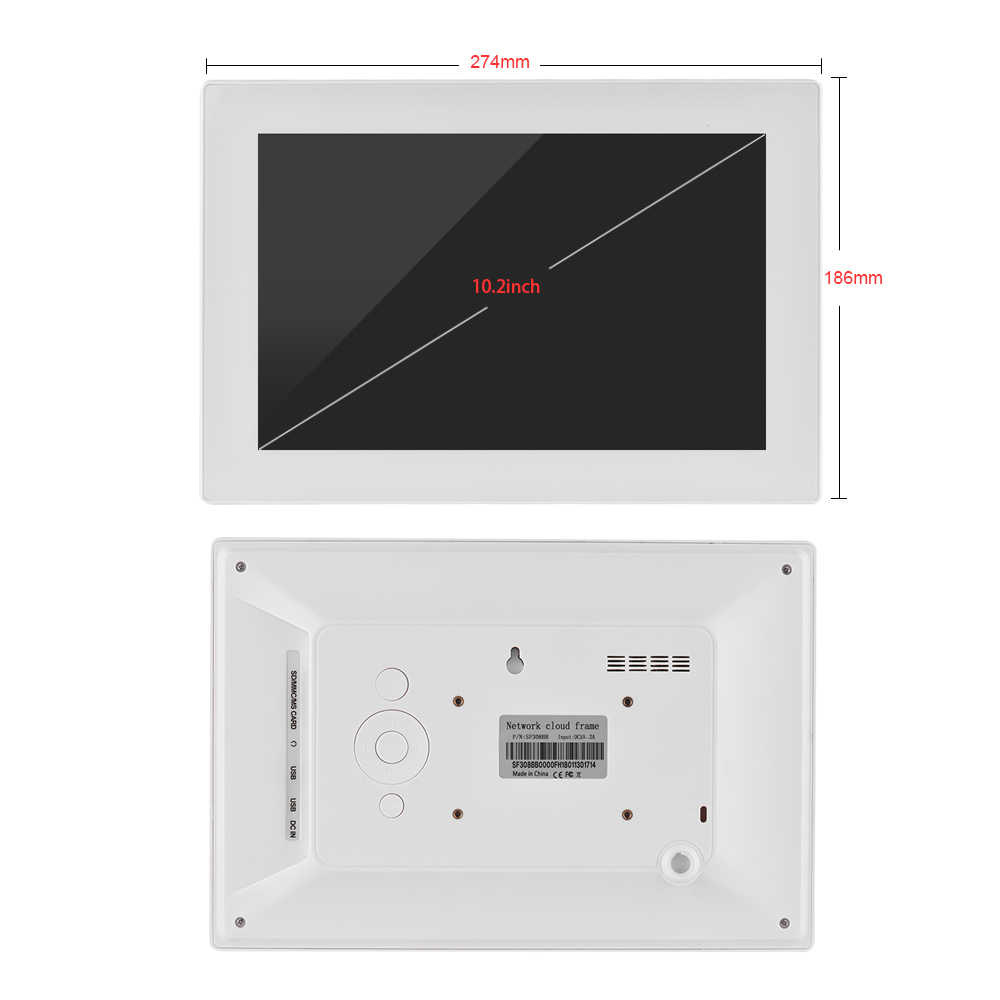 Detail Feedback Questions about 10.2 Inch Touch Screen WiFi Cloud ...