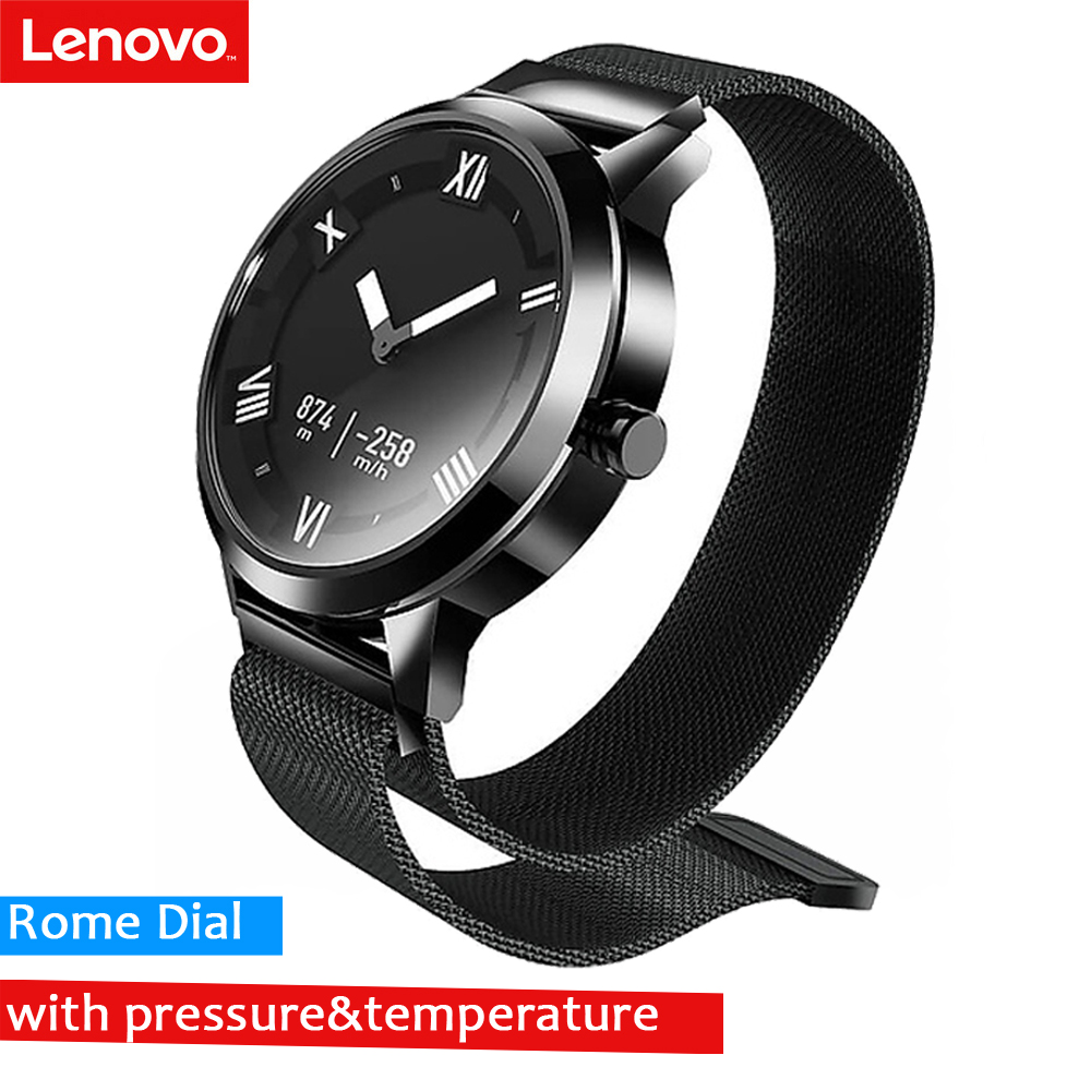 Lenovo Watch X Plus Smartwatch Milanese Strap 45 Days Standby Time 80 Meters Waterproof Heart Rate