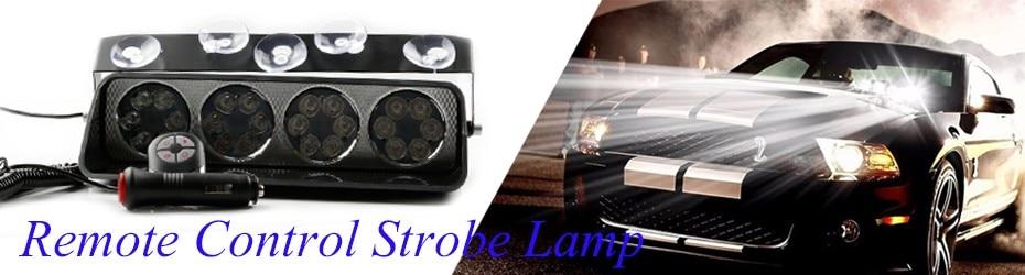 remote control strobe lamp