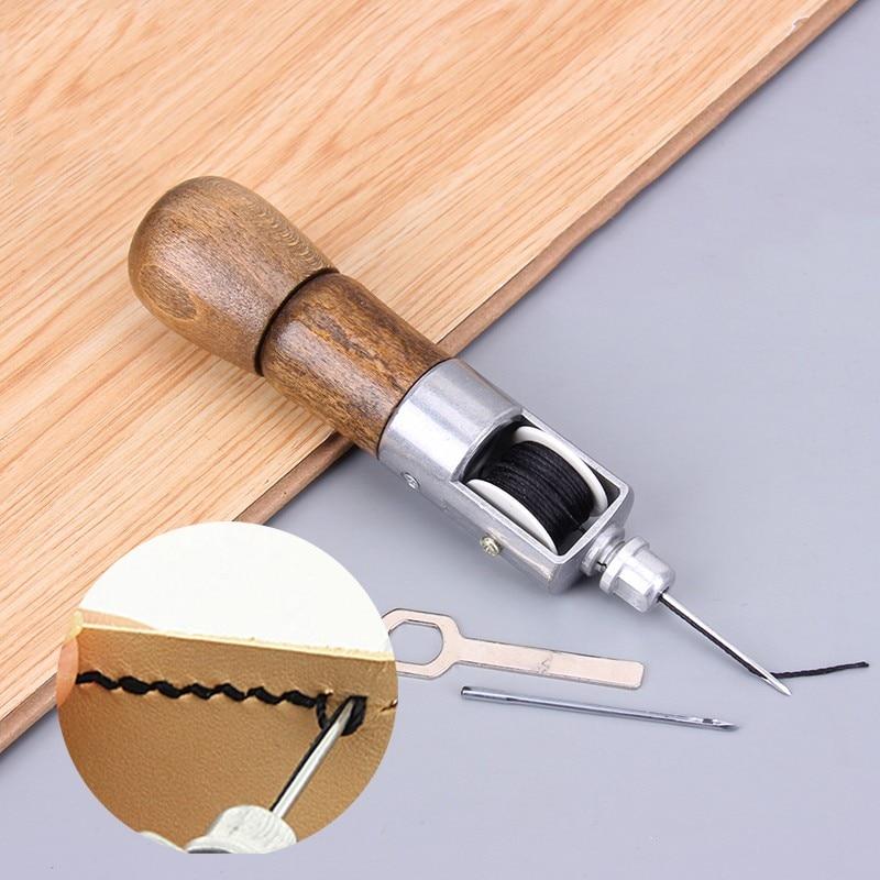 Leather Sewing Awl Kit Hand Stitcher Set