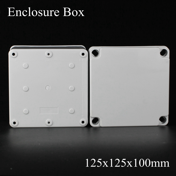 125*125*100MM IP67 ABS electronic enclosure box  Distribution control network cabinet switch junction outlet case 125x125x100MM 175 175 100mm ip67 abs electronic enclosure box distribution control network cabinet switch junction outlet case 175x175x100mm