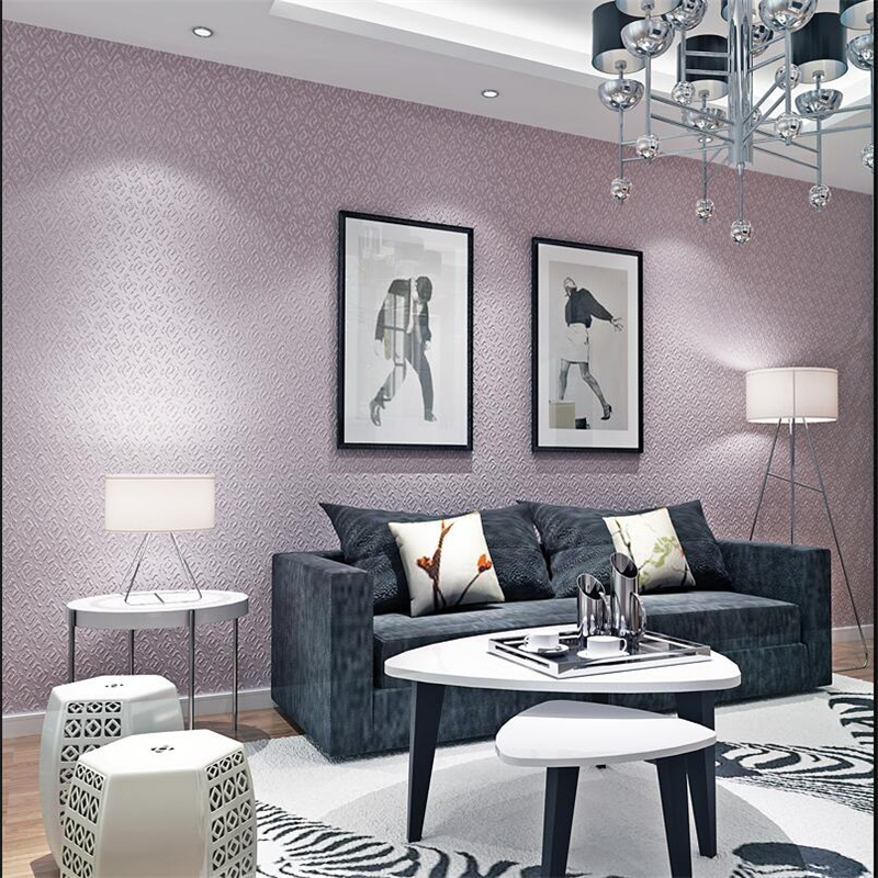 plain background friendly living embossed bedroom beibehang environmentally woven non zoom wallpapers