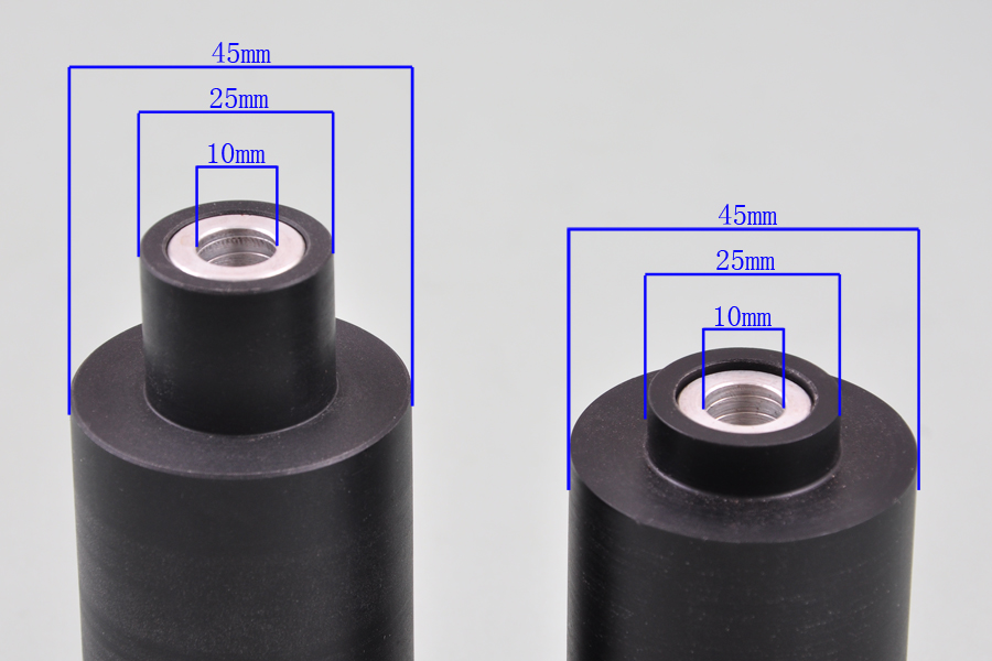 Wotefusi пластик высокой плотности полезен для 03-04 Suzuki GSXR 1000 ползунки рамы [P353]