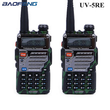 2PCS Baofeng UV-5RE Walkie Talkie UV-5R Upgraded Version UHF VHF CB Radio VOX FM Transceiver for Hunting Radio 2 way radios