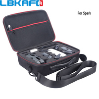 LBKAFA Waterproof EVA Hard Storage Bag Carry Case for DJI Spark Drone Accessories Handbag Box Portable Cases Shoulder Storage