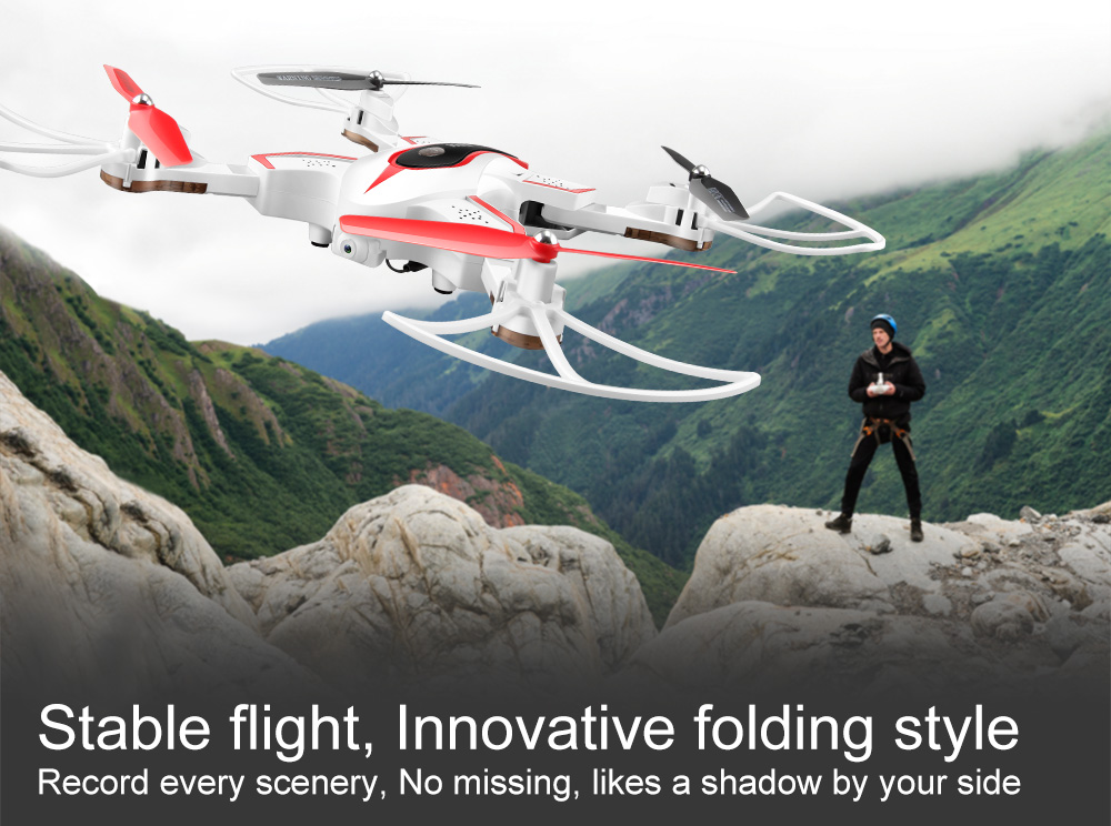 SYMA Official X56W RC Drone Folding Quadrocopter With Wifi Camera Real-time Sharing Flashing Light RC Helicopter Drones Aircraft 13