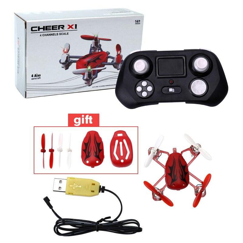 Cheer X1 Populyar Mini Uçan Uçan Ladybird RC Quadcopter 2.4G 4CH - Uzaqdan idarə olunan oyuncaqlar - Fotoqrafiya 5