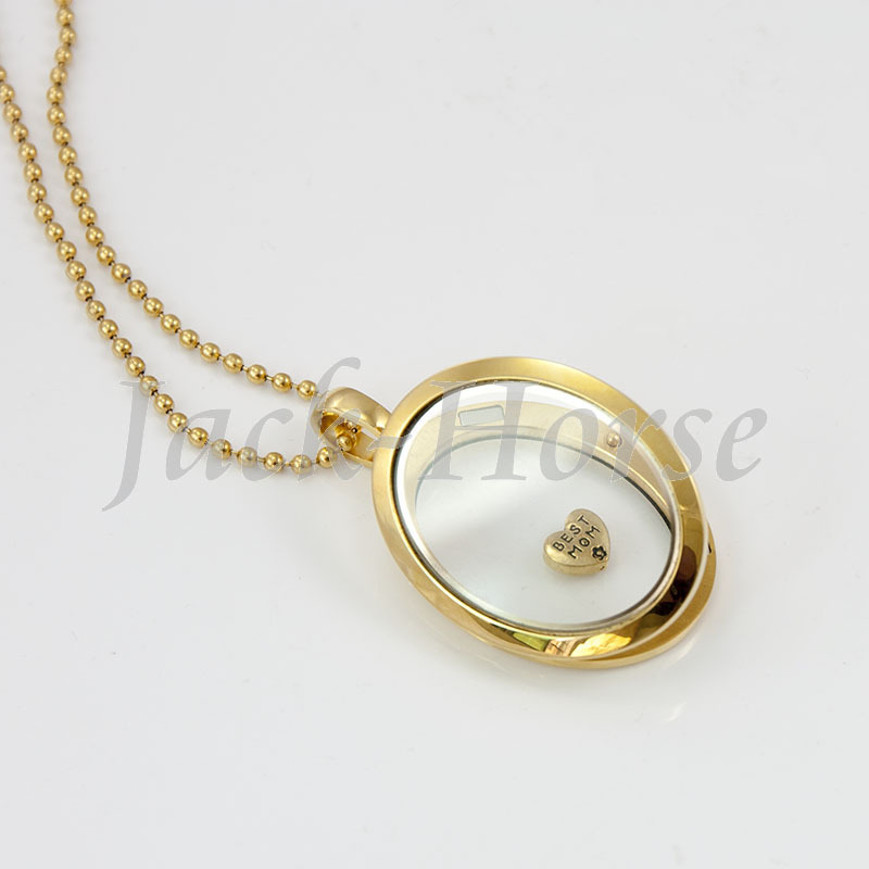 Newest gold oval locket pendant 316 stainless steel floating living newest gold oval locket pendant 316 stainless steel floating living memory locket necklace in pendants from jewelry accessories on aliexpress mozeypictures Image collections