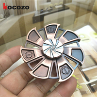 EDC Metal Hand Spinner Round Fidget Spinner For Autism ADHD New Style Tri Spinner Adult Anxiety