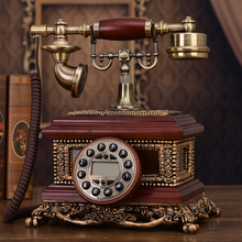 The new European antique  landline retro grade telephone