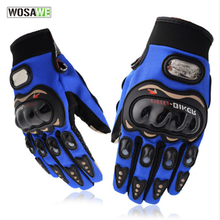 PRO-BIKER motorcycle gloves riding motocross full finger guantes moto gloves wearable breathable protective gear accessories