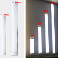 New LED Ceiling Lamp Tube 10W 20W AC110V 220V SMD 2835 EPISTAR Aluminum PC Case Anti