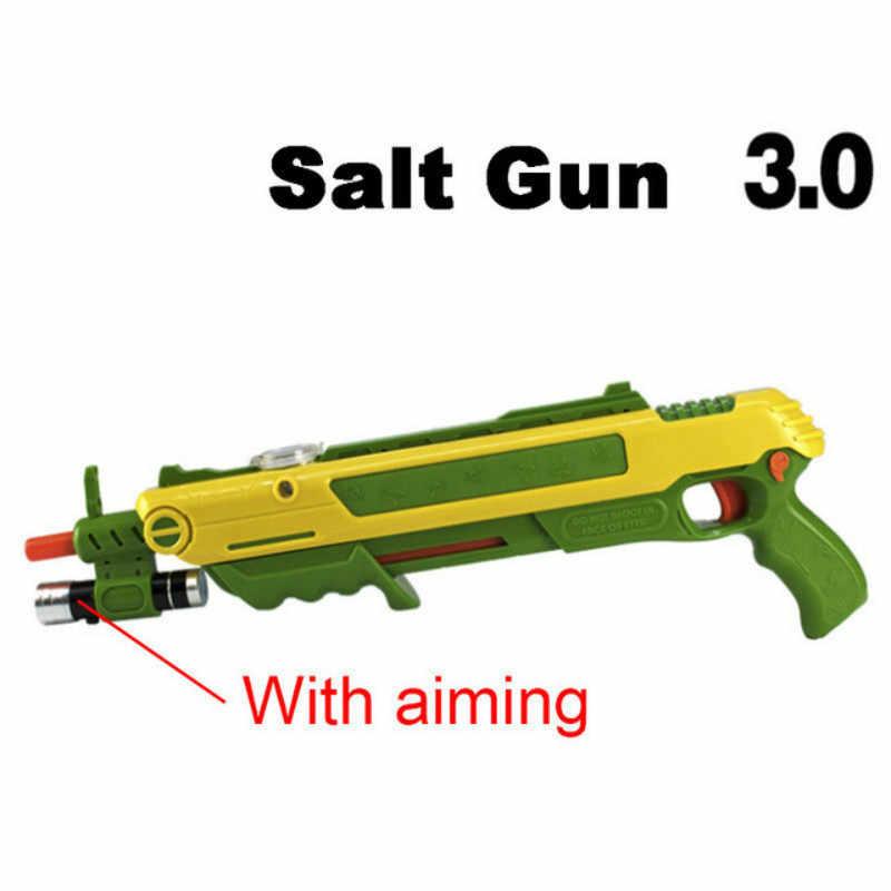 מלח ופלפל כדורים לטוס אקדח Blaster Airsoft עבור באג לפוצץ אקדח יתושים דגם צעצוע מלח אקדח מצלמה BagStrap תיק סיטונאי