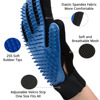 NICREW cat grooming glove for cats wool glove Pet Hair Deshedding Brush Comb Glove For Pet Dog Cleaning Massage Glove For Animal 2