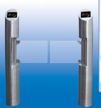 swing barrier for pedestrian access control/swing turnstile/motorized barrier turnstile