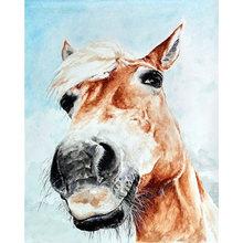 Алмазная вышивка yikee «лошади» картина из круглых/квадратных