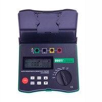 DY4300A Digital  Soil Resistivity Tester 4 Terminal Earth Resistance Tester 0.001 Ohm   200K Ohm 94Hz  105Hz  111Hz  128Hz|Resistance Meters|Tools -