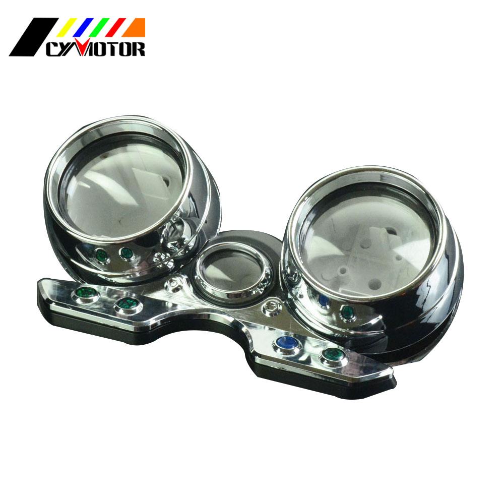 Motorcycle Gauges Cluster Speedometer Odometer Shell Case Cover For SUZUKI GK7BA GSF400 GSF 400 Inazuma