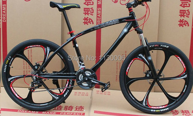 21 27 Speed 26 Downhill Mountain Or Road Bike Complete Double