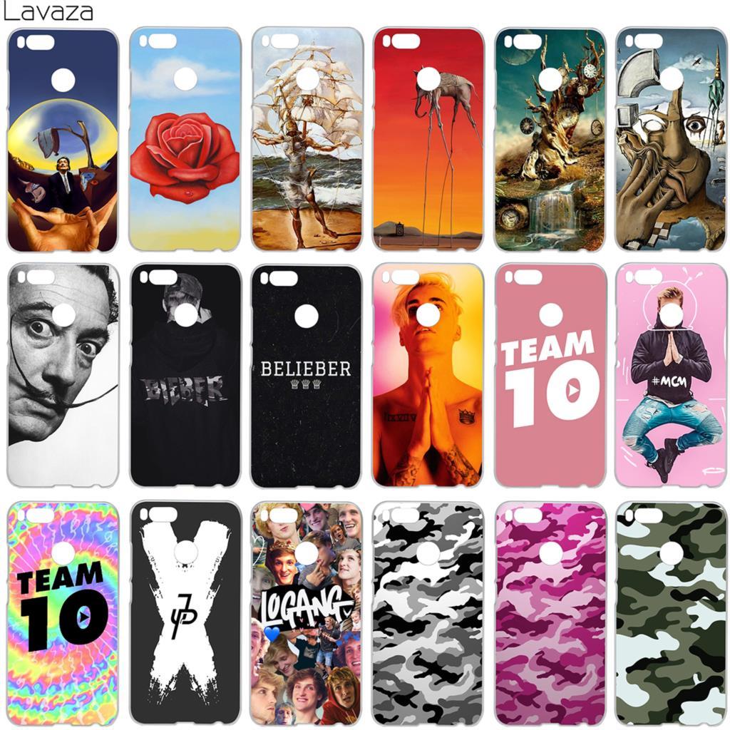 Lavaza Salvador Dali Justin Bieber Jake Paul Team 10 Camouflage Case for Xiaomi Redmi No ...