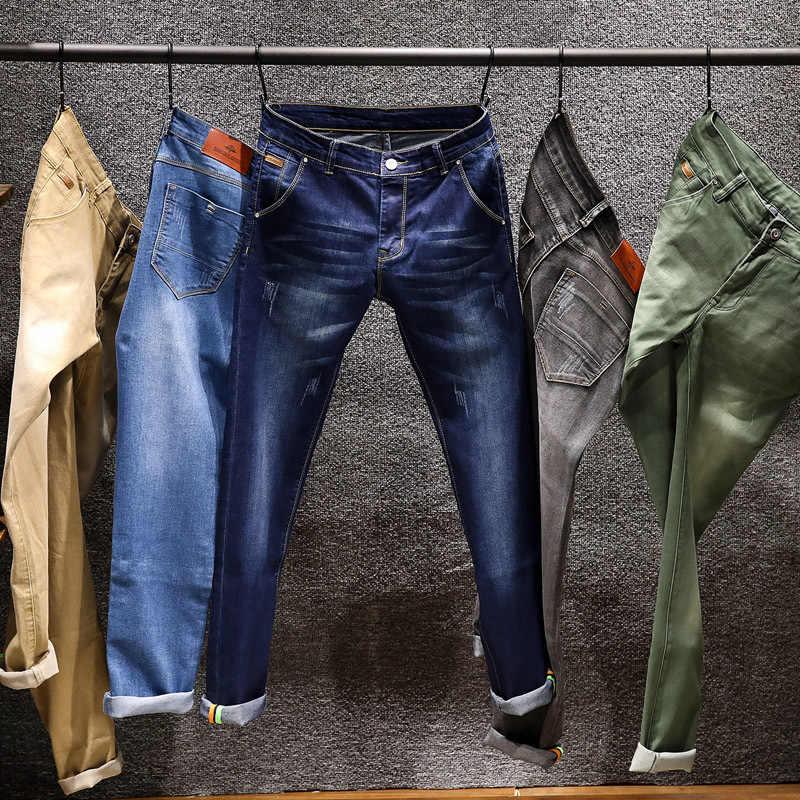 Novedad de 2020, pantalones vaqueros a la moda para hombre ...