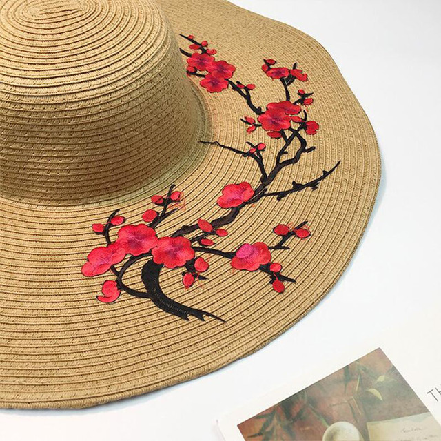Hot Style large straw hat