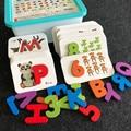 Детская головоломка для раннего образования  детская Когнитивная обучающая игрушка  распознавание цифровых букв  подходящая головоломка