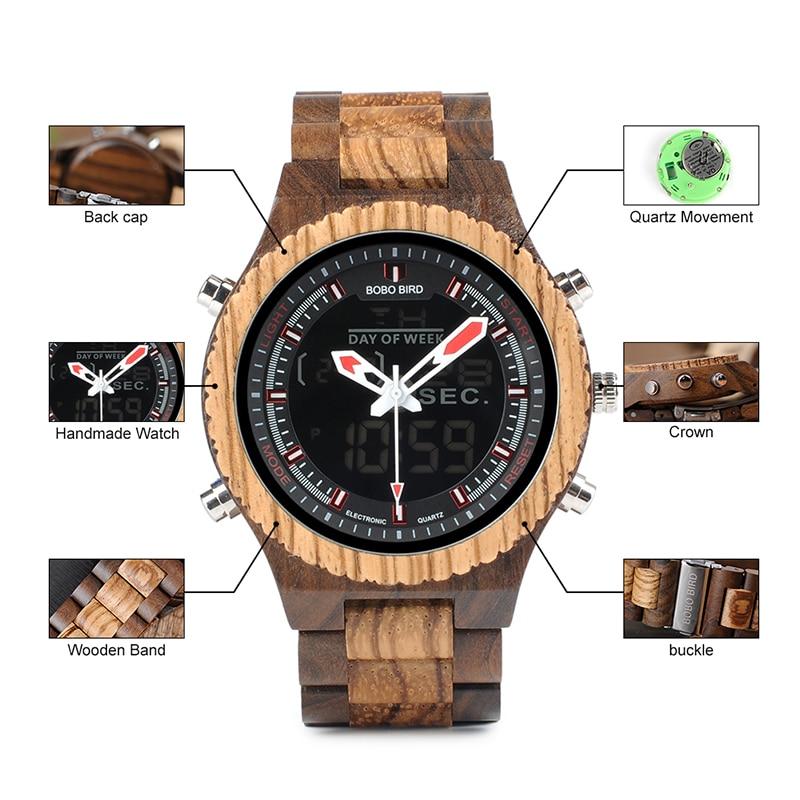 wooden wrist watches bobo bird fashion wristwatch (13)