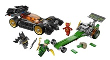 CHINA BRAND self-locking bricks toy Superheroes Batman The Riddler Chase Compatible with Lego 76012