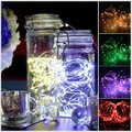 AAA Battery Operated 12FT 3M 30led Christmas Holiday Wedding Party Decoration Festi LED Copper Wire String Fairy Lights Lamps