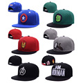 Marvel Avengers Snapback Caps Men Captain Iron Man Hulk Raytheon Baseball Cap Gorras Planas Trucker Hats For Men 370