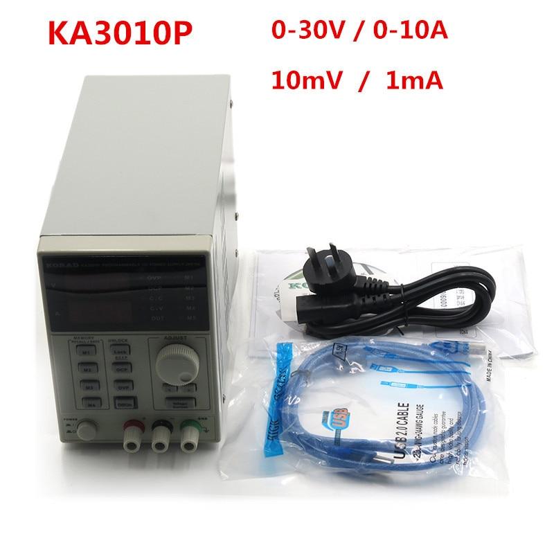 KA3010P DC Power Supply Programmable Power Supply 0-30V 0-10A High Precision 10mV/1mA Maintenance Inspection Power Supply полуприцеп маз 975800 3010 2012 г в