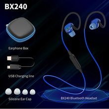 PLEXTONE BX240 wireless bluetooth earphones IPX5 waterproof music sport bass stereo headset with microphone for iPhone & android plextone bx240 auriculares bluetooth earphone sports wireless hifi headset stereo waterproof headphone airpods for iphone 7 plus