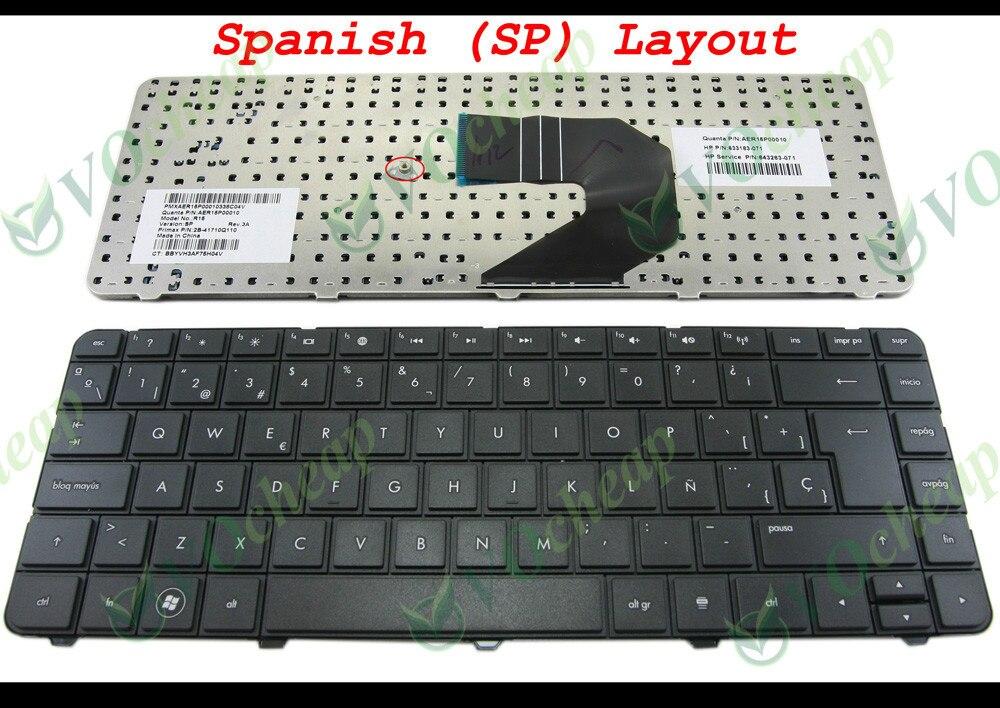 NEW HP Compaq CQ43 CQ43-100 G4 Series US keyboard black