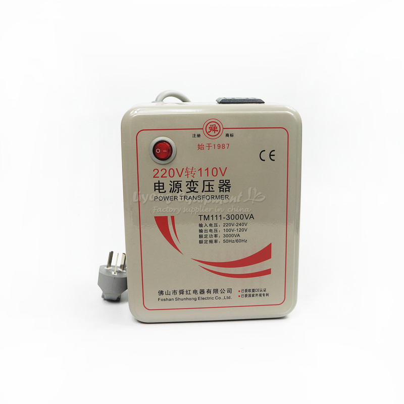 3000W transformer converter 110V to 220V(or 220V to 110V) voltage transformer E00002 1 pc 1500w 1 5kva step down voltage converter transformer 220v 240v to 110v 120v