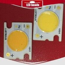 20 pcs LUSTROUS cob 15W 16w 38V 420MA COB led watts lens LED white beads bridgelux chip 40mil MTG CREE EPISTAR