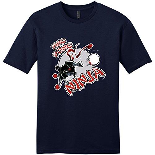 T Shirts Casual Brand Clothing Cotton Regular Funny Ping Pong Ninja Table Tenniser Young Short O-Neck Tee